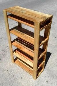 Easy to Make Pallet Shoe Rack | 99 Pallets