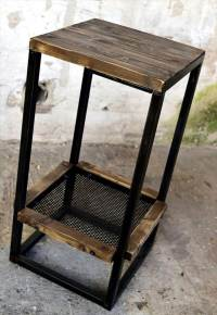 Wood Pallet bar Table with Stools