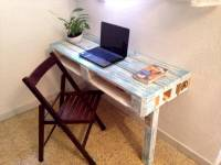 Pallet Coffee Table and Laptop Desk | 99 Pallets