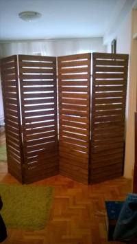 Upcycled Pallet Room Divider   99 Pallets