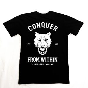 Conquer From Within Mens T-Shirt