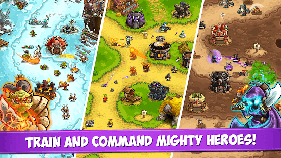 - Kingdom Rush Vengeance Mod Apk (v1.8.1) + Unlimited Money/Gems/All Heroes/Towers + No Ads