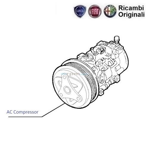 FIAT Palio  Pera  Adventure 1.9D: AC Compressore