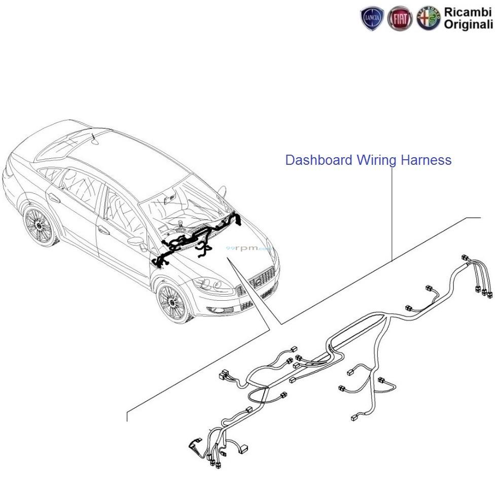 FIAT Linea: Dashboard Wiring Harness