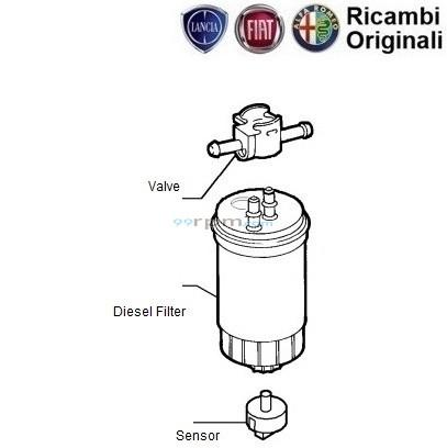 FIAT palio 1.9 D Diesel Filter / Petra/ Adventure