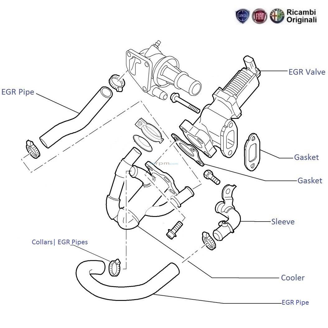 FIAT Palio Stile 1.3 MJD diesel: EGR
