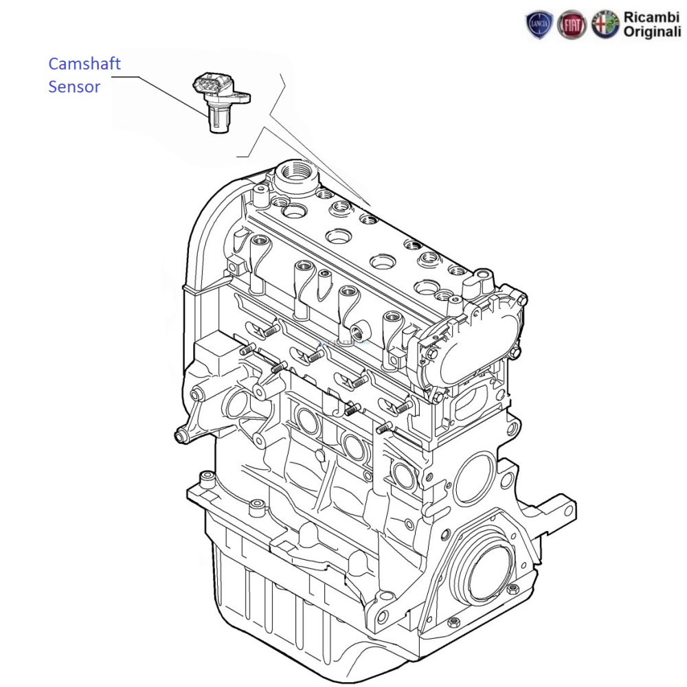 medium resolution of diagram camshaft sensor
