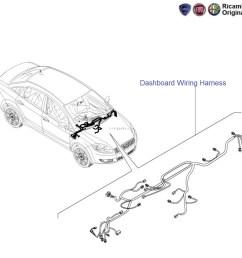dashboard wiring harness linea fiat palio  [ 982 x 982 Pixel ]