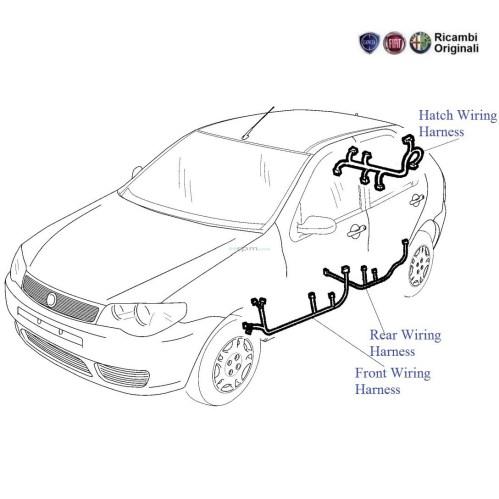 small resolution of fiat palio 1 2 petrol door wiring harness fiat siena wiring diagram