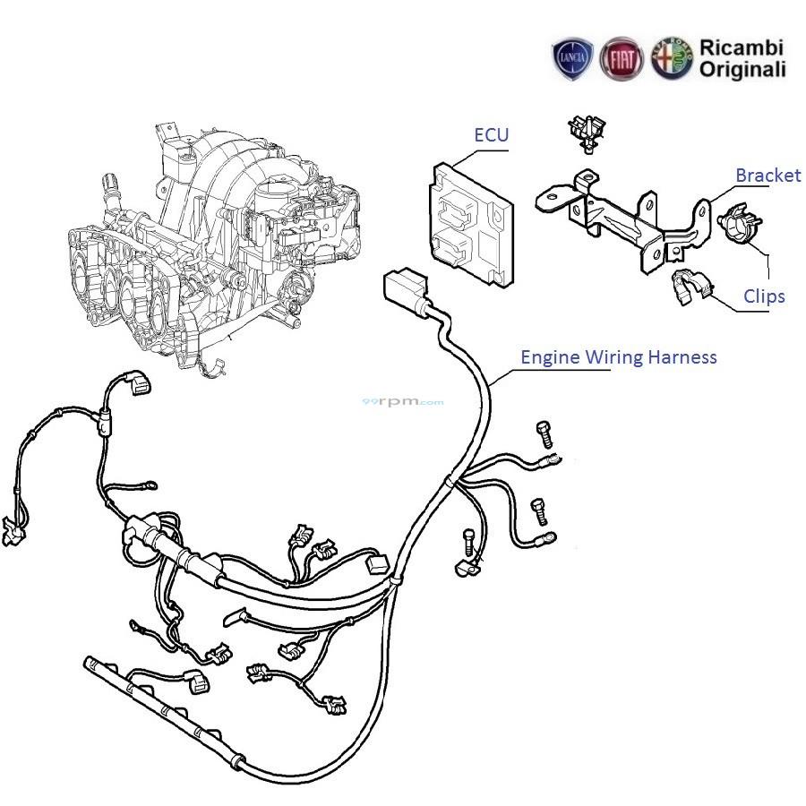 [WRG-0626] Fiat Grande Punto Heater Wiring Diagram
