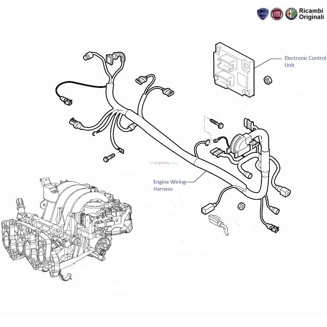 hight resolution of fiat grande punto 1 4 fire engine wiring harness