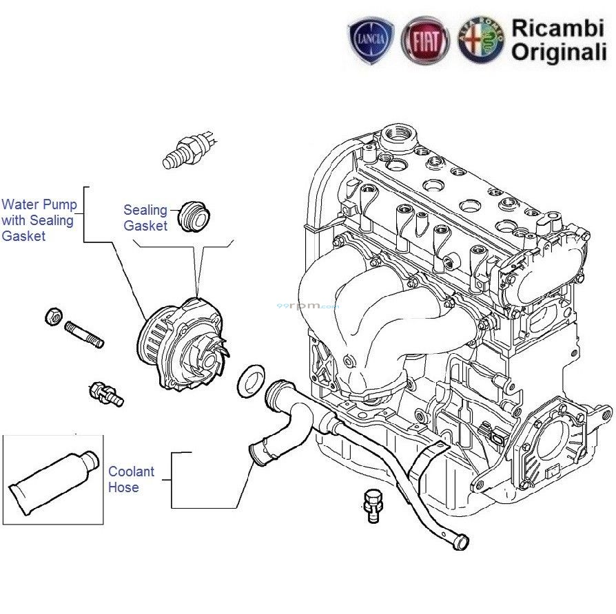 hight resolution of fiat engine cooling diagram