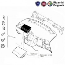 FIAT Dashboard Spare Parts for FIAT Palio, Uno, Siena