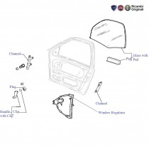 FIAT Front Spare Parts for FIAT Palio, Uno, Siena, Petra