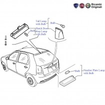 FIAT Front & Rear Lights products Spare Parts for FIAT