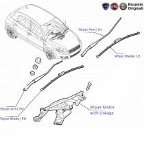 FIAT Wiper products for FIAT Palio, Uno, Siena, Petra