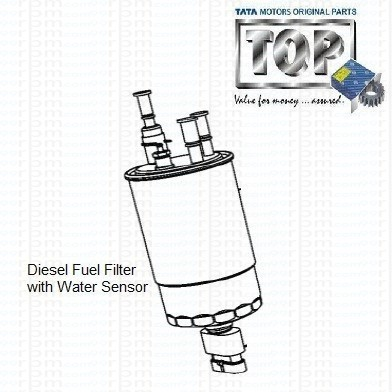 TATA Indigo Manza 1.3 Quadrajet: Diesel Fuel Filter with