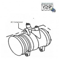 TATA A/C Compressor for Indica, Indigo, Safari, Strome