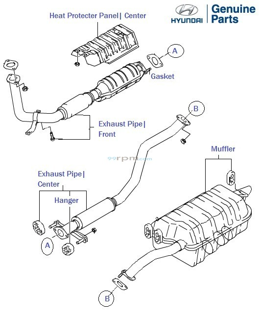 2004 Hyundai Elantra Steering Parts Diagram • Wiring