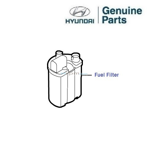 Hyundai Next Gen i10 1.1/1.2 Petrol: Fuel Filter