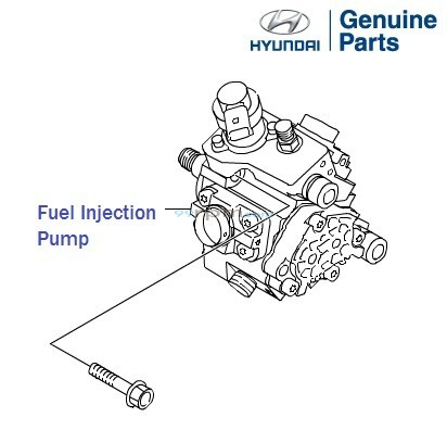 Hyundai Neo Fluidic Elantra 1.6 CRDi: Injection Pump