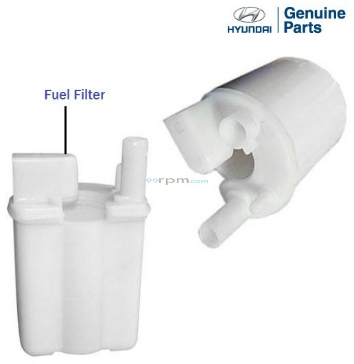 oes genuine fuel filter for select hyundai models