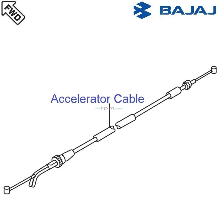 Bajaj Avenger 220 DTS-i: Accelerator Cable