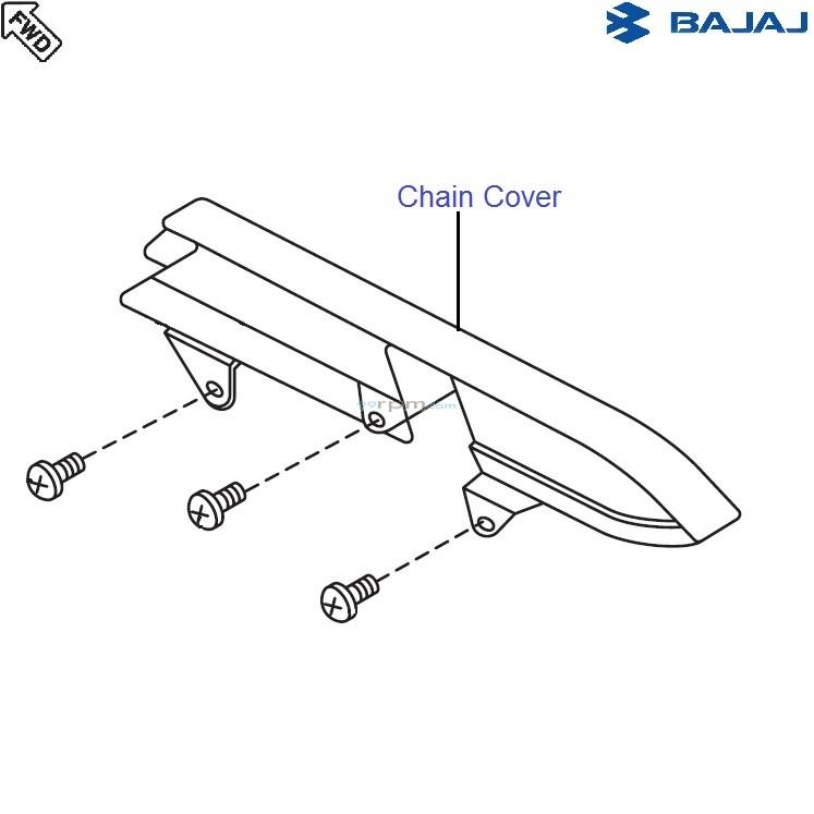 Bajaj Avenger 220 DTS-i: Chain Cover