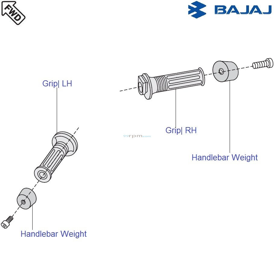 Bajaj Avenger 220 DTS-i: Handle Grip