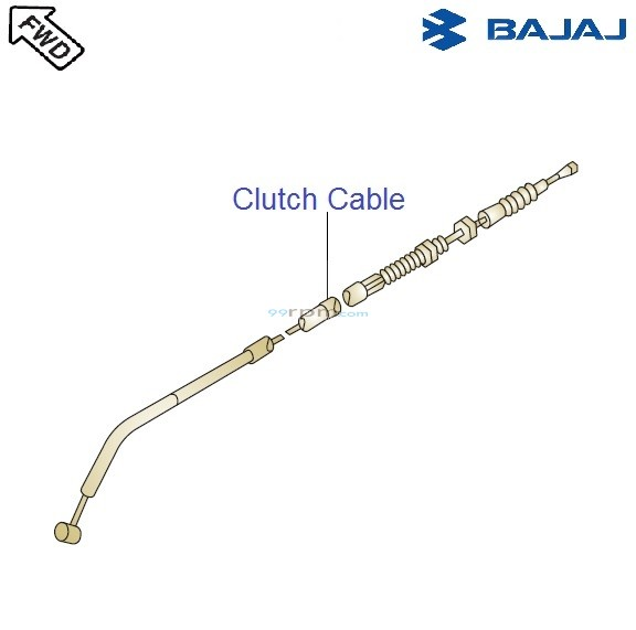 Bajaj Avenger Cruise 220 DTS-i: Clutch Cable