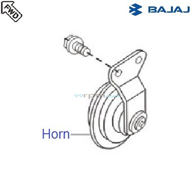Bajaj Avenger 180 DTSi: Horn