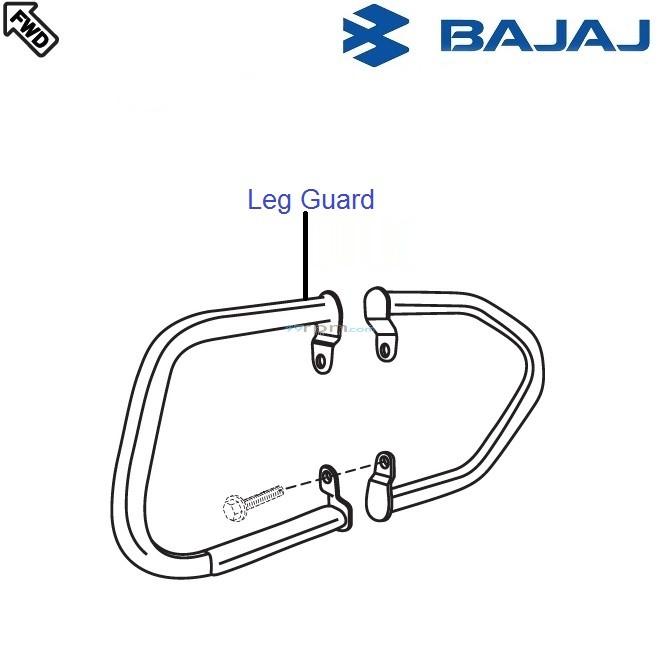 Bajaj Pulsar 220S: Leg Guard