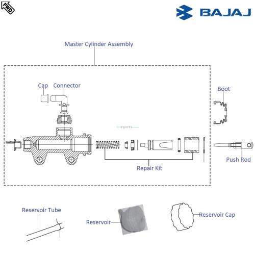 small resolution of bajaj pulsar 220 dts fi rear view mirror