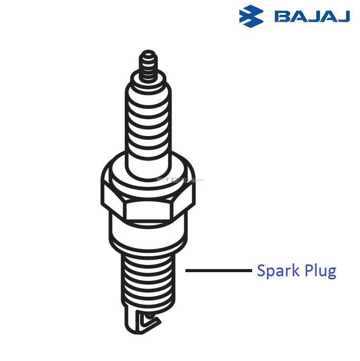 Bajaj Pulsar 220F DTS-i: Spark Plugs