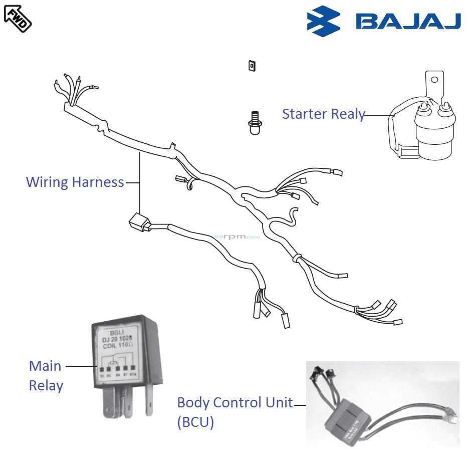 Bajaj Pulsar 150 Electrical Wiring Diagram : 42 Wiring