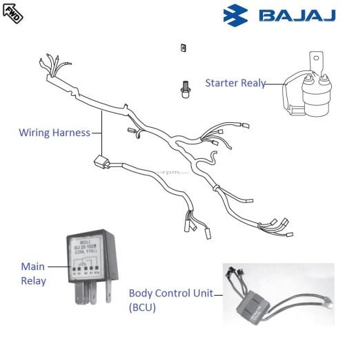 small resolution of bajaj pulsar 220f dtsi wiring and relaysbajaj auto wiring diagram 13
