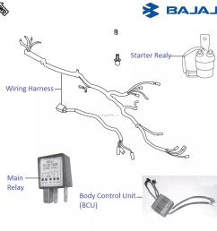 bajaj pulsar 220f dtsi wiring and relays [ 946 x 948 Pixel ]
