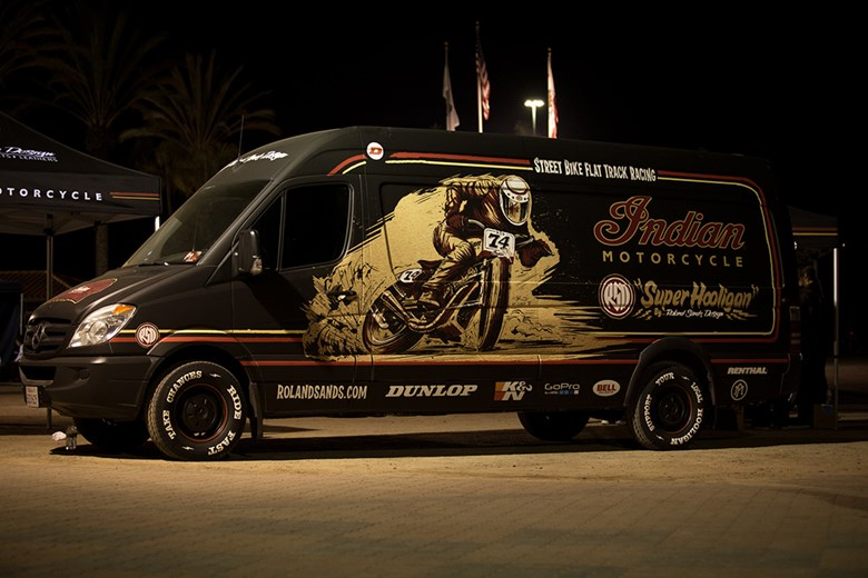 Super Hooligan Tour van