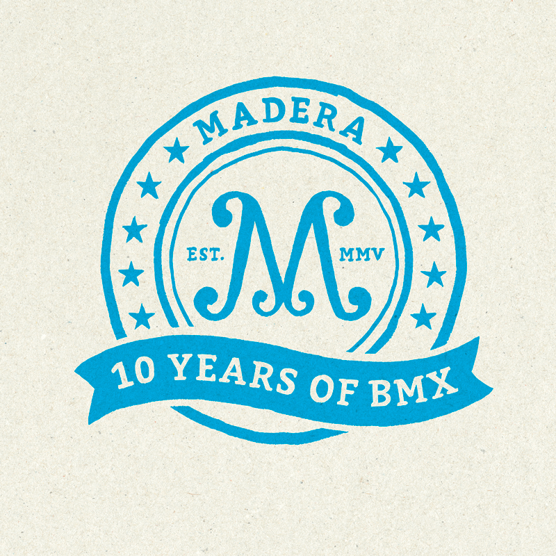 Madera - 10yrs Of BMX Logo