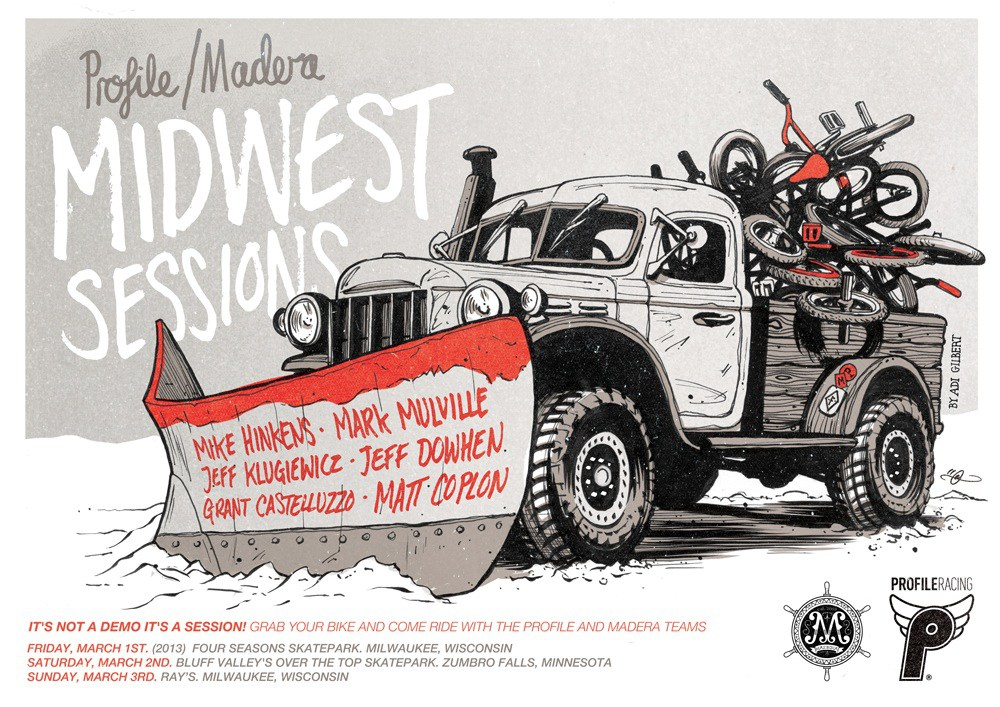 Madera Midwest Sessions By Adi Gilbert