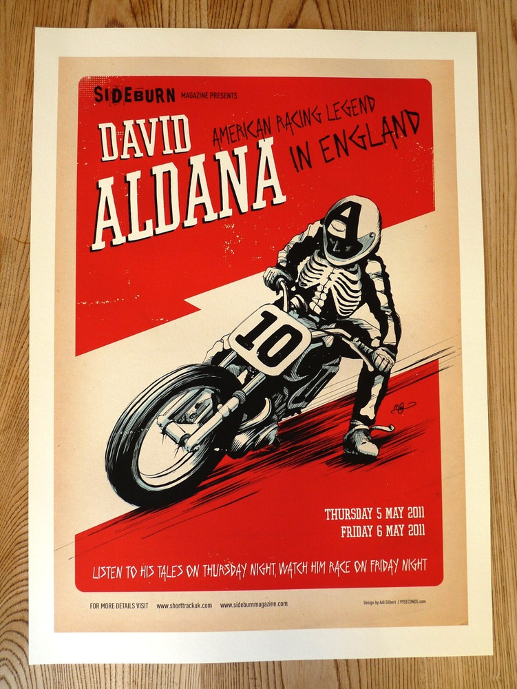 Aldana Poster (Red)