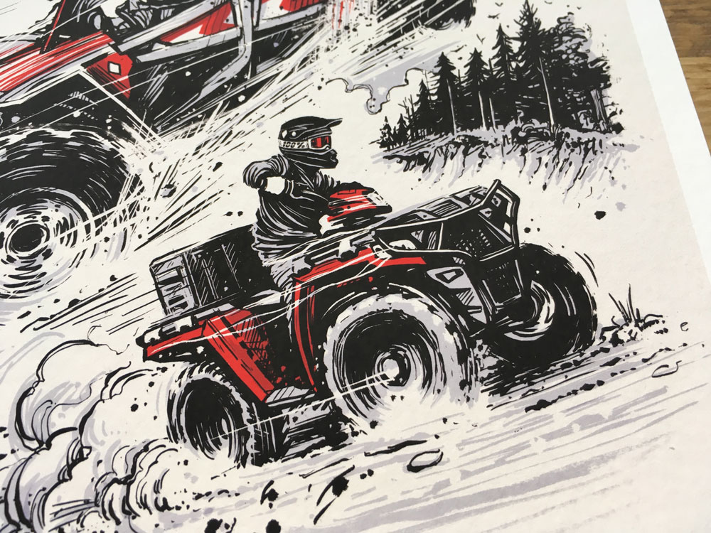ATV / UTV Print By Adi Gilbert