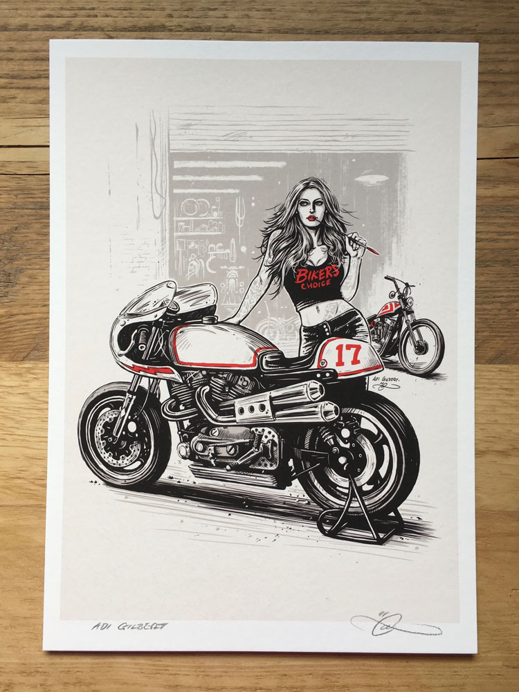 Bikers Choice Print