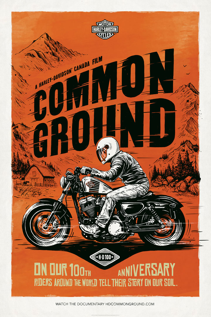 HD Common Ground Poster 1 By Adi Gilbert / Andrea Romanelli / Zulu Alpha Kilo