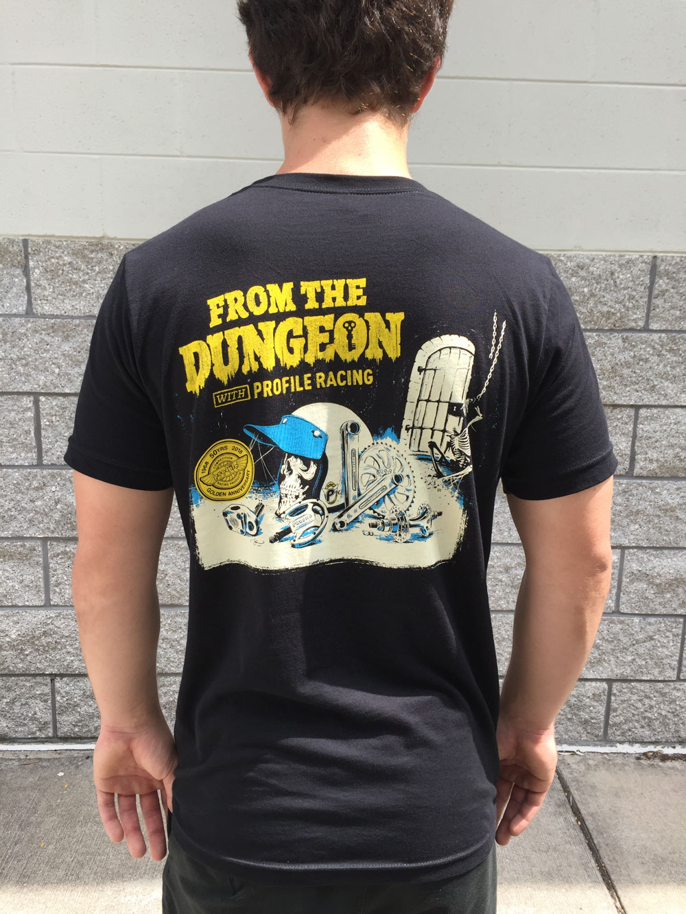 """Profile """"From the Dungeon"""" t-shirt"""
