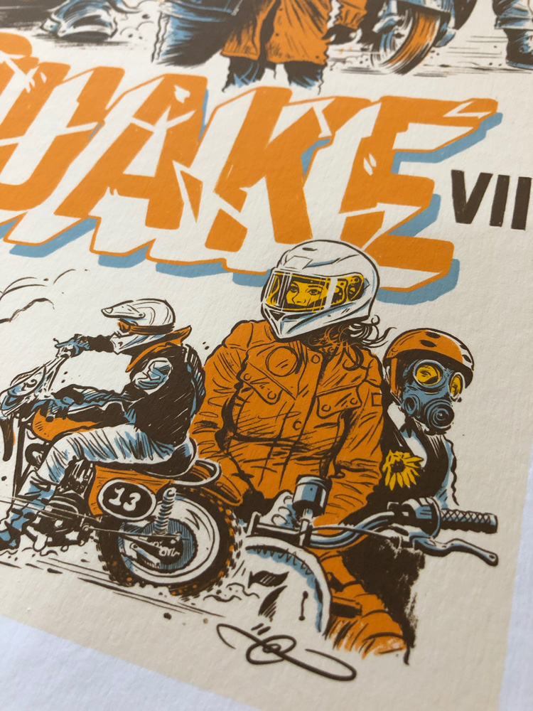 Dirtquake VII by Adi Gilbert