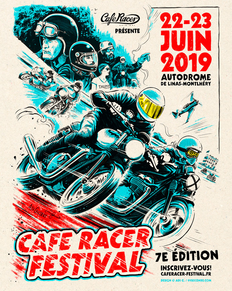 Cafe Racer Festival 2019 By Adi Gilbert