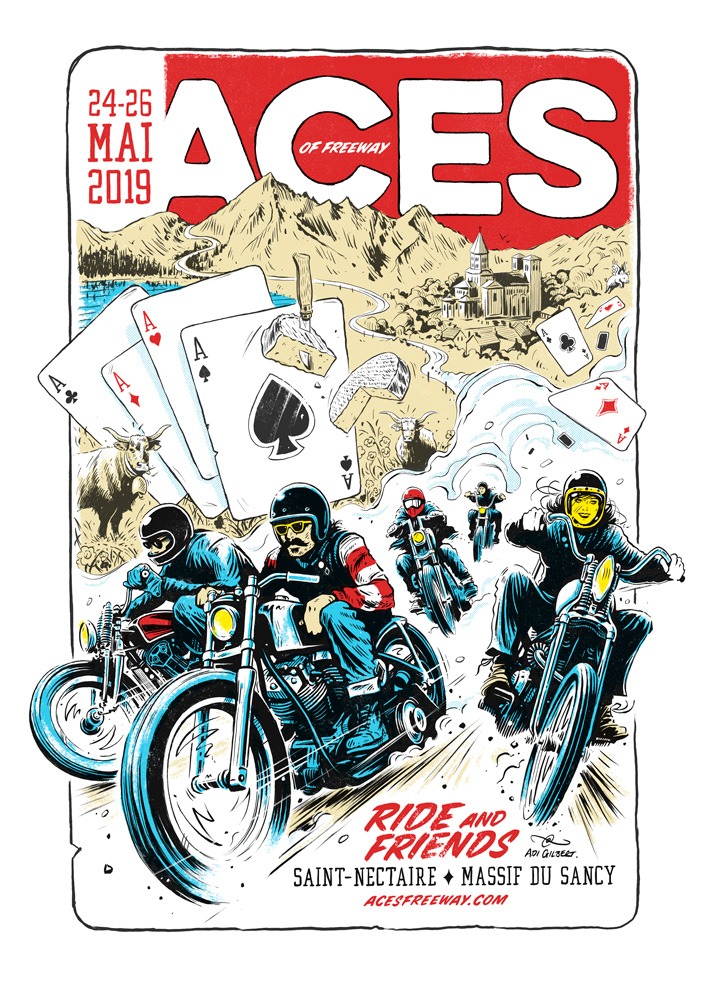 Aces of Freeway by Adi Gilbert