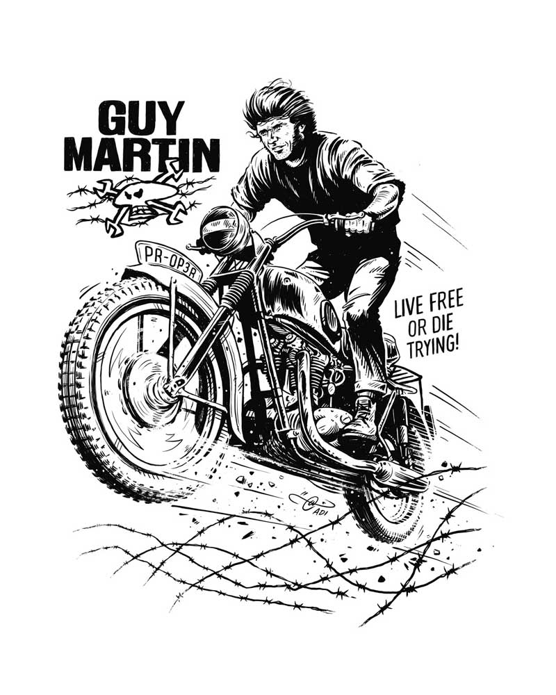 Guy Martin And The Great Escape