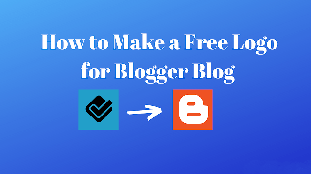 Make a free logo for blogger